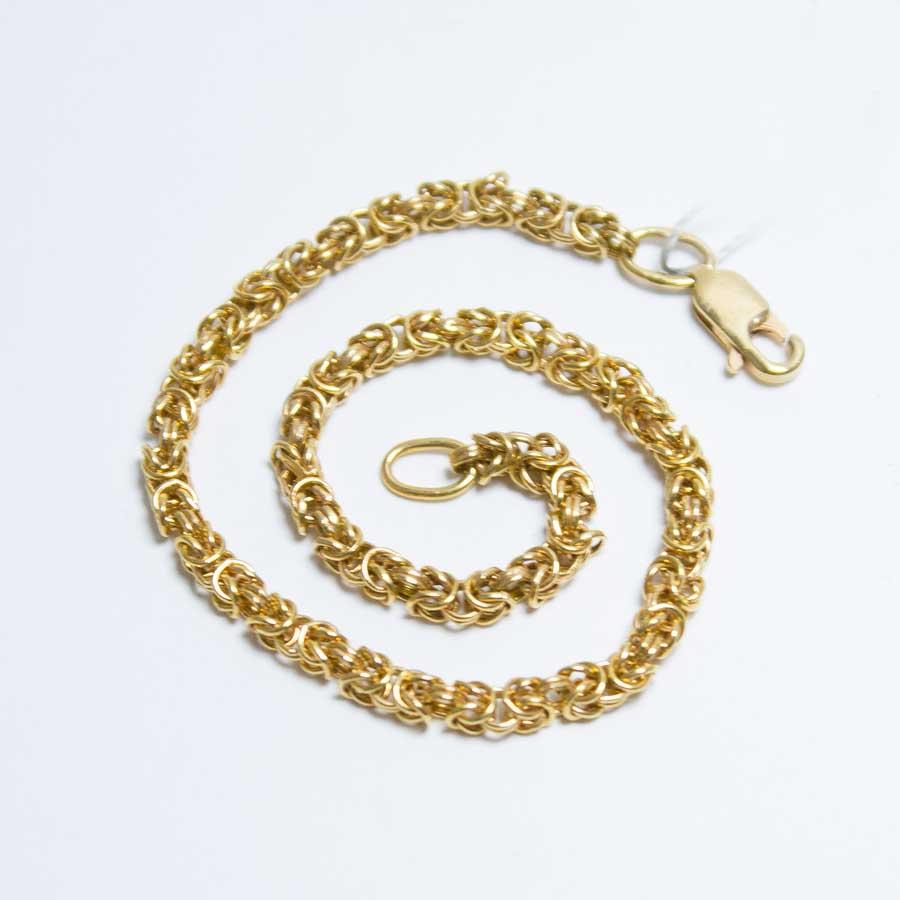 Золотой браслет bc41fb6ce6c